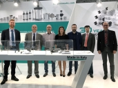 Our staff in Hannover Messe 2017