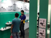 Visitors at our stand in Assembly Automation 2017