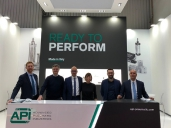 Our staff in MDA HANNOVER MESSE 2019